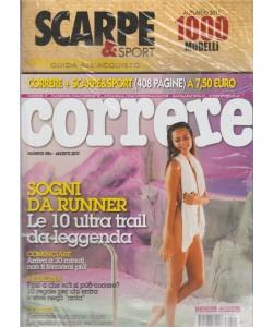 Correre - mensile n. 394 Agosto 2017 + Scarpe & Sport Autunno 2017