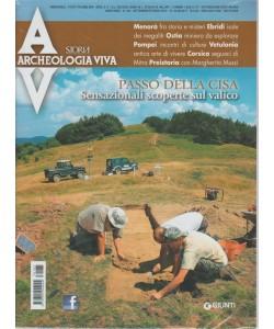 Archeologia Viva - Bimestrale n. 185 Settembre 2017 Passo della Cisa