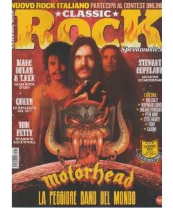 Classic Rock -mensile n.58 settembre 2017 - Motorhead la peggiore band del mondo