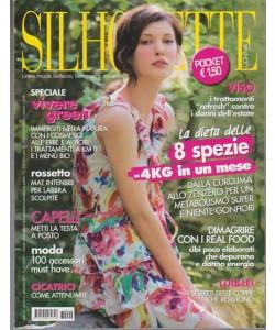 Silhouette Donna formato Pocket -mensile n.9 Settembe 2017 speciale vivere Green