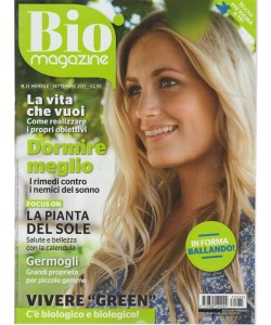 Bio Magazine - mensile n. 35 Settembre 2017 - in forma Ballando!