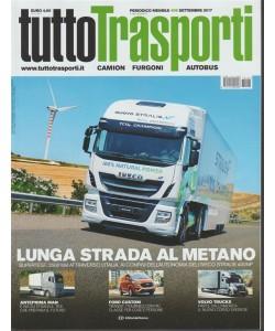 Tuttotrasporti - mensile n. 408 Settembre 2017 - Camion, Furgoni, Autobus