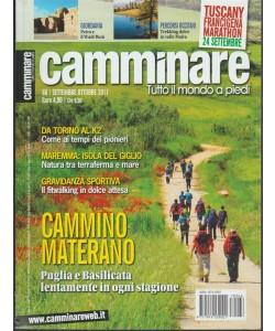 Camminare - bimestrale n. 66 Settembre 2017 Tutto Mondo a Piedi
