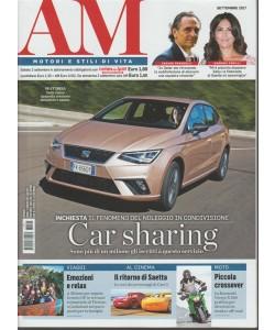"""AM """"Auto mese"""" - mensile n. 9 Settembre 2017 - Motori e stii di vita"""