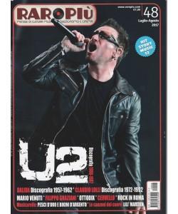 Raropiù - mensile di cultura musicale, collezionismo e cinema n. 48 Luglio 2017