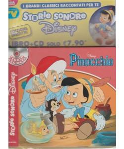 Storie sonore Disney: libro + CD - vol. 2 Pinocchio