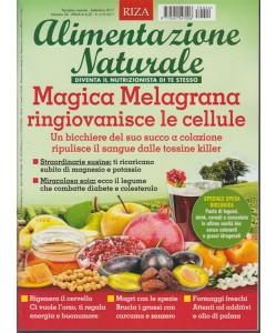 """RIZA - Alimentazione Naturale - mensile n. 24 Settembre 2017 """"magica Melagrana"""""""