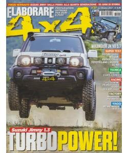 Elaborare 4X4 - bimestrale n. 57 Settembre 2017 - Suzuki Jimny 1.3 Turbo Power!