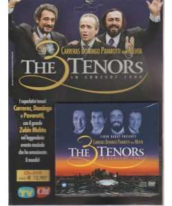 CD + DVD-The 3 Tenors in Concert-Los Angeles 1994 Carreras Domingo Pavarotti