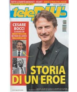 Telepiù - settimanale pocket n. 29 -  Luglio 2017 Addio a Paolo Villaggio