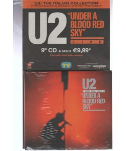 9° CD U2: the italian collection - Under A Blood Red Sky By Sorrisi e Canzoni TV