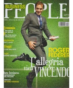 Business People- mensile n.9 Settembre2017-Roger Federer:L'allegria vien vincendo