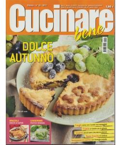 """Cucinare Bene - mensile n. 10 Ottobre 2017 - Dolce Autunno """"Pie di uva"""""""