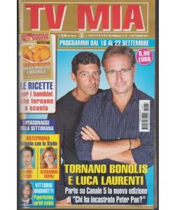 Tv Mia - settimanale pocket 37 - 19 Settembre 2017 - Tornano Bonolis e Laurenti