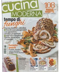 Cucina Moderna - mensile n. 10 Ottobre 2017 - tempo di Funghi