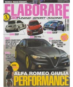Elaborare - mensile n 229 Luglio 2017 - Alfa Romeo Giulia Performance