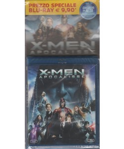 BluRay disk - X-Men: Apocalisse - Regista: Bryan Singer