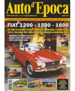 Auto d'epoca - mensile n. 7/8 Luglio 2017 - Fiat 1200 - 1500 - 1600