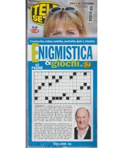 Telesette - settimanale pocket n.40 - 26 Settembre2017+Enigmistica & Giochi n.35