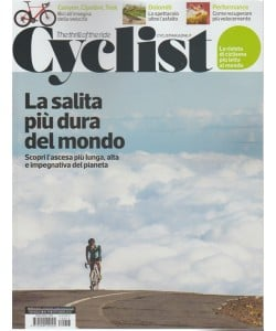 Cyclist - mensile n. 17 Ottobre 2017 - the thrill of the ride