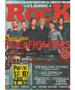 Classic Rock - mensile n. 59 Ottobre 2017 - Punk story: a morte il rock!