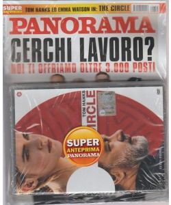 Panorama - settimanale n. 41(2679) - 8 settembre 2017 + DVD The circle