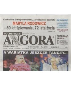 Angora - settimanale in lingua Polacca n. 39 - 18 Settembre 2017