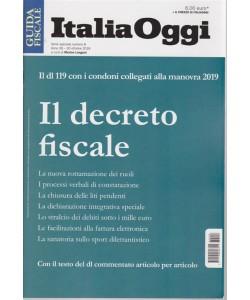 Guida fiscale Italia oggi - serie speciale - n. 8 - 30 ottobre 2018 -