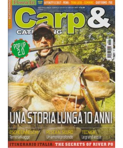 Carp & Catfishing - bimestrale n. 32 Ottobre 2017 POP UP 2.0