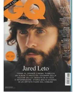 """GQ """"Gentlemen's Quarterly"""" Italia - mensile n. 213 Ottobre 2017 Jared Leto"""