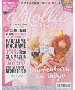 Mollie Makes - bimestrale n. 1 Ottobre 2017 La collana easy-chic