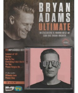 "CD - Bryan Adams ""Ultimate"" - by Sorrisi e Canzoni TV - 19 imperdibili Hit!"