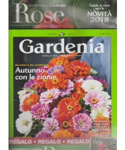 Gardenia - mensile 402 Ottobre 2017 + ROSE: specialedi Gardenia novità 2018