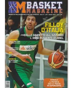 Basket Magazine - mensile di Pallacanestro e cultura sportiva n. 39 Ottobre 2017