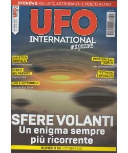 Ufo International Magazine - mensile n. 55 Ottobre 2017 Sfere Volanti