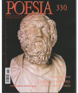 Poesia - mensile internazionale di cultura poetica n. 330 Ottobre 2017