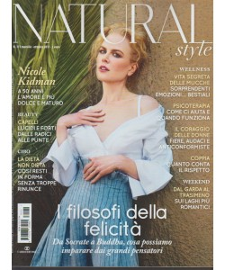 Natural Style - mensile n. 172 Ottobre 2017 Nicole Kidman l'amore a 50 anni