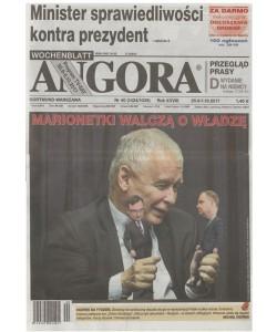 Angora - settimanale in lingua polacca n. 40 - 25 Settembre 2017