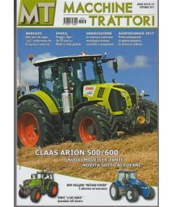 MT Macchine Trattori - mensile n. 176 Ottobre 2017 CLASS ARION 500/600