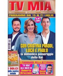 Tv Mia - settimanale pocket n. 28 - 18 Luglio 2017 - Nozze Roberta Bruzzone
