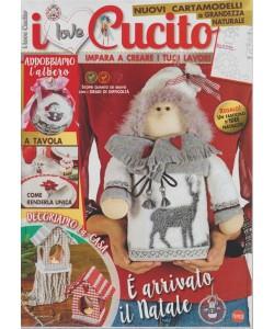 I Love Cucito - Bimestrale n. 19 Ottobre 2017 + Fascicolo Idee Natalizie