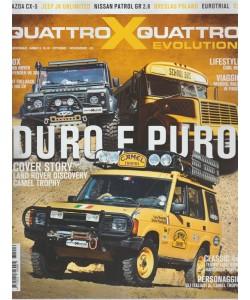 Quattroxquattro X Evolution - bimestrale n. 16 Ottobre 2017