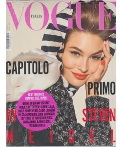 Vogue Italia - mensile n. 803 - Luglio 2017 Capitolo Primo by Steven Meisel