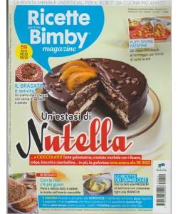 Ricette per il mio Bimby - mensile n. 24 Novembre 2017 - Un'estasi di Nutella