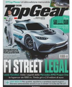 Top Gear - mensile n.120 novembre2017 - GTCup Monza un'altra edizione memorabile