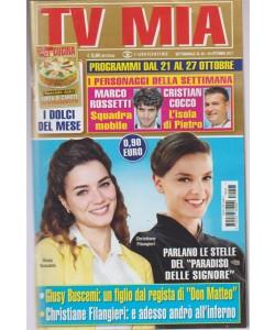 Tv Mia - settimanale pocket n.42- 24 Ottobre2017 Speciale dolci:Torta di carote