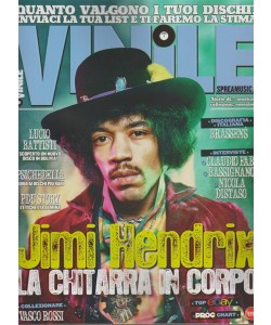 Vinile - bimestrale n. 10 Novembre 2017 - Jimi Hendrix la chitarra in corpo