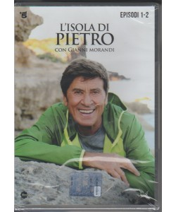 1° di 3 DVD l'Isola di Pietro - Episodi 1 e 2 - la Fiction con Gianni Morandi