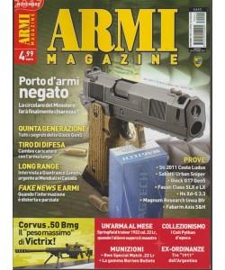 Armi Magazine - mensile n. 11 Novembre 2017 - Porto d'armi negato
