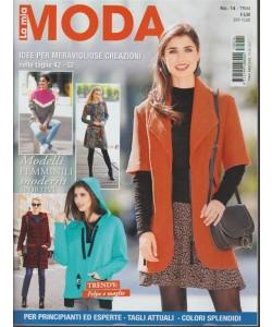La mia Moda - trimestrale n. 14 Ottobre 2017 Trendy: Felpe e Maglie